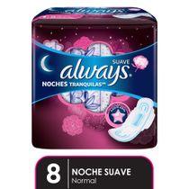 Always-Suave-Noches-Tranquilas-Toallas-8-Unidades