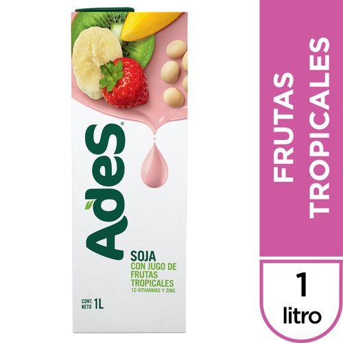 Jugo-de-Soja-Frutas-Tropicales-Ades-brik-1-Lt