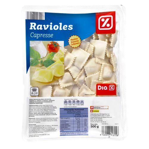Ravioles-DIA-caprese-500-Gr