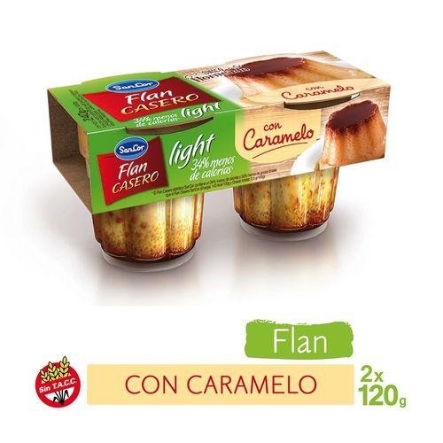 Flan-de-Vainilla-Light-casero-Sancor-240-Gr