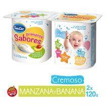 YOGUR-ENTERO-CREMOSO-MANZANABANANA-PRIMEROS-SABORES-SANCOR-2X120GR