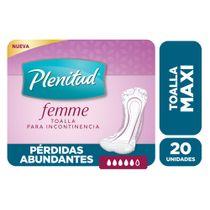 Toallitas-Femeninas-Plenitud-Femme-Maxi-20-Ud