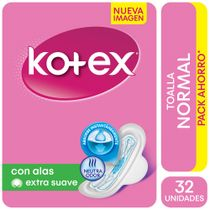 Toallitas-Femeninas-Kotex-Normal-con-Alas-y-Gel-32-Ud