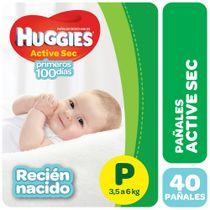Pañales-Huggies-Active-Sec-Megapack-Pequeño-40-Un