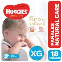 Pañales-Huggies-Natural-Care-Ellos-XG-18-Un