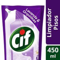 Limpiador-Pisos-4-en-1-CIF-liquido-Lavanda-y-Orquideas-450-Ml-_1